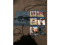 Limited Edition 1TB Ps4 with games ( Playstation 4 console limited uncharted )