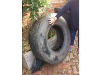 FREE! Large Goodyear lorry tyre.