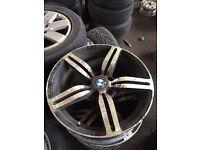 "18"" BMW 3 series alloy wheels 5x120"