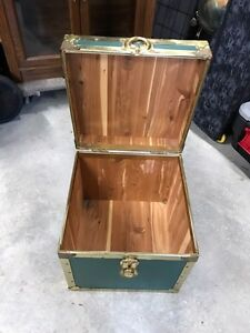 Cedar lined square chest