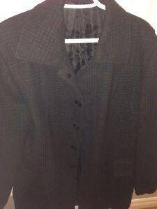 Men's wool-blend twill topcoat St. John's Newfoundland image 1