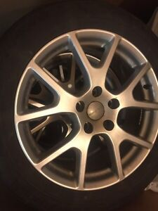 19 inch Dodge OEM alloy rims with all seasonal tires
