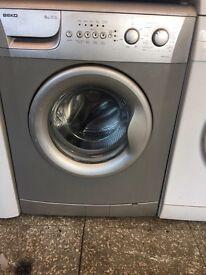 Beko silver washing machine 6kg