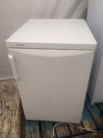 White Miele undercounter refrigerators good condition with guarantee bargain