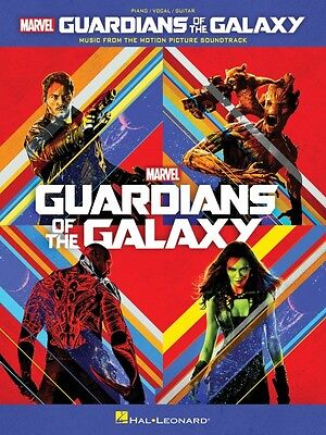 Guardians Of The Galaxy Sheet Music From Movie Soundtrack Piano Vocal  000138872