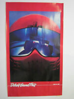 1982 Detroit Grand Prix Poster