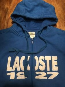 Lacoste hoodie large homme