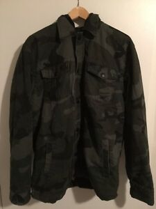 ESC Empyre Surplus Co. Camouflage Jacket Size Large