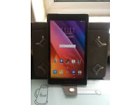 "Asus zenpad 7"" tablet and case"