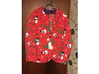 Opposuits men's Christmas Suit With Tie and tags on