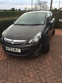 63 plate £6,150 Vauxhall Corsa Limited Edition