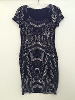 Ladies Dress From H&M - Black & White - Small - Brand New