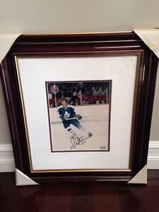 Signed hockey picture and frame Kawartha Lakes Peterborough Area image 1