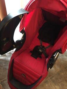 Britax B-Agile Stroller, Red+Child Tray Kitchener / Waterloo Kitchener Area image 9
