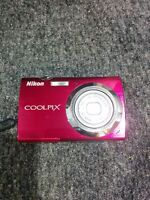 nikon coolpix s230- touch screen point and shoot