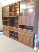 3-Piece Light Up Book Case / Display Cabinet / Shelving Unit