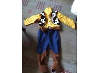 Child's Toy Story Woody Costume age 5-6