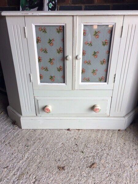 Shabby chic corner tv cabinet