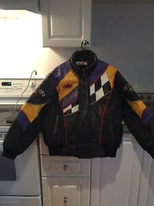 Leather Snowmobile Jacket Kawartha Lakes Peterborough Area image 1