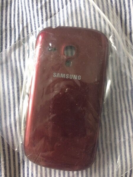 Samsung galaxy s3 red back cover