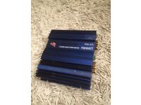 Jackson 700w 2ch car amplifier (subwoofer sub amp stereo system)