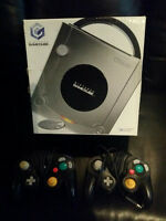 NINTENDO GAME CUBE SPECIAL PLATINUM EDITION NEVER USED !