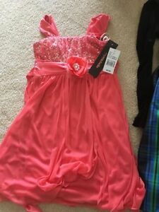 4 Brand New Girl Dresses with Tags Size 6X-7