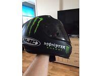 Hjc rapha 10 monster energy helmet