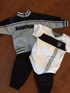 3piece Raiders 18 Month Outfit