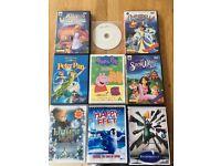 DVD bundle kids films - 9 films