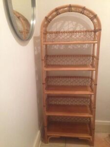 Cool Retro Cane 5-Level Shelf Unit Coogee Eastern Suburbs Preview