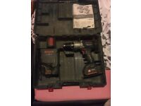 Bosch cordless drill 2.6 ah 2 speed £100