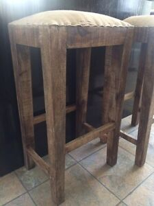 Solid Wood Stools!  Strathcona County Edmonton Area image 2