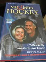 Autographed Gordie & Colleen Howe Hockey Book