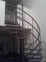 Je fabrique escaliers et vous installez ou faite installer