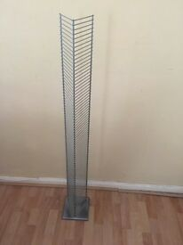 Habitat silver cd Stand £5 collection in twerton bath good condition any questions please ask