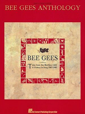 Bee Gees Anthology Sheet Music Piano Vocal Guitar Songbook NEW 000490567
