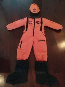 Space Team Child Costume - size 4