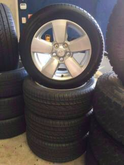 Brand New Genuine Holden Commodore Alloys and New Tyres Wickham Newcastle Area Preview