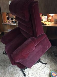 Power lift and recline Senior chair