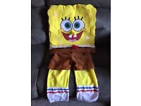 Spongebob Fancy Dress Outfit 5-7yrs