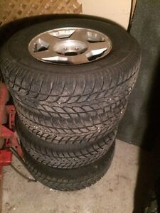 Savero winter tires  and Chevy rims