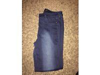 Next dark blue jeans