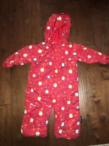 Red Owl Snowsuit