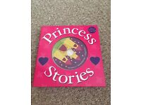 Princess books with read along CD