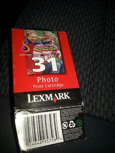 New Lexmark #31 colour ink