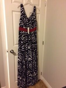 IGIGI PLUS SIZE ZEBRA PATTERN DRESS  London Ontario image 2