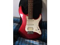Yamaha Pacifica Guitar and Case