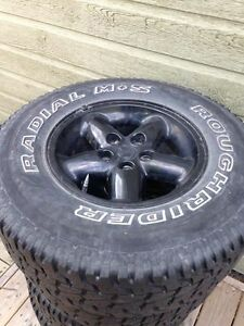 Radial mud and snow 235/75r15 5x114.3