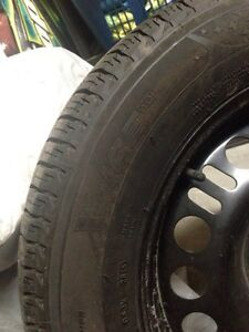 Michelin X-Ice 3 winter tires with rims Kitchener / Waterloo Kitchener Area image 5